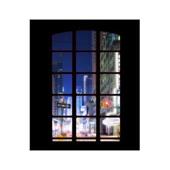 Sticker géant Manhattan fenêtre