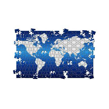 Sticker Mural Puzzle MappEmonde