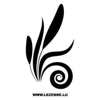 > Sticker Deco Floral 4