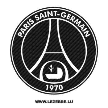 Sticker Carbone PSG Paris Saint-Germain