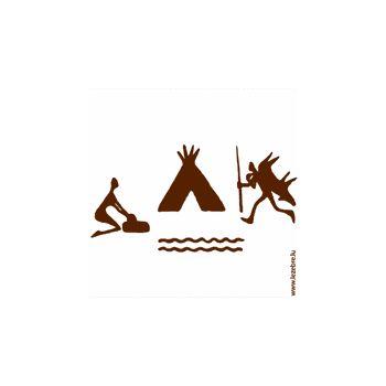 Tee shirt Chasse Tribal