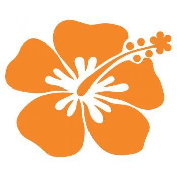 Sticker Fleur Déco HIBISCUS w