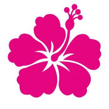 Sticker HIBISCUS  Déco en fleure mK