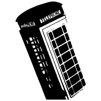 Sticker Décoration Cabine Téléphone Londres