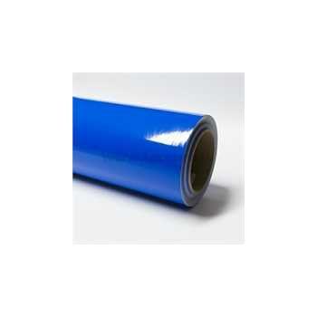 Blue vinyl film