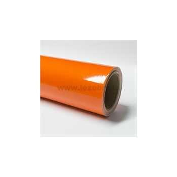 Orange vinyl film