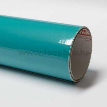Turquoise vinyl film