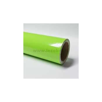 Lime green vinyl film