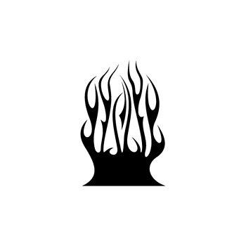 > Sticker Flamme 47