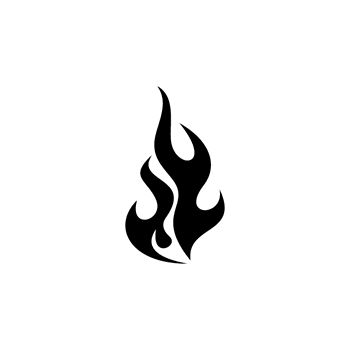 Flame Decal 48