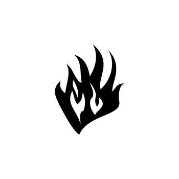 > Sticker Flaming Décoratif 50