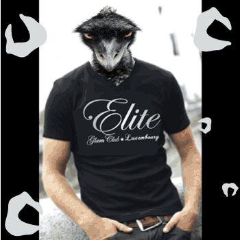 T-Shirt L'élite Glam Club Luxembourg