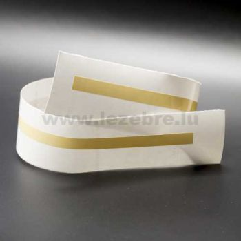 Beige rim sticker roll