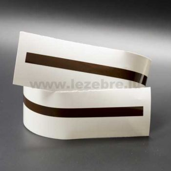 Chocolate rim sticker roll