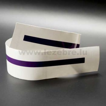 Plum rim sticker roll