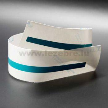 Turquoise rim sticker roll