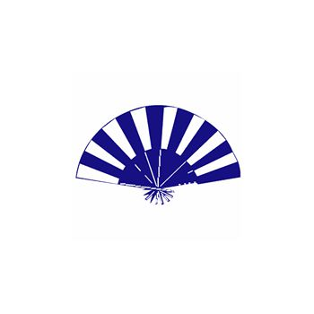 Chinese Hand Fan Decal 2