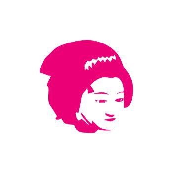 Sticker chinoise visage