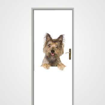 Little Dog door decal