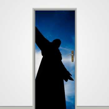 Christ the King (Cristo Rei) Lisbon door decal