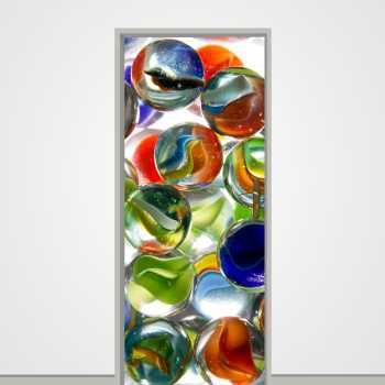 Marble Toy door decal