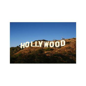 Sticker géant Hollywood