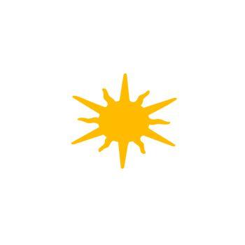 Sticker Décoratif Soleil