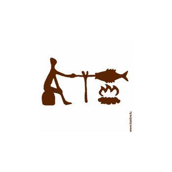 Tee shirt Miam poisson Tribal