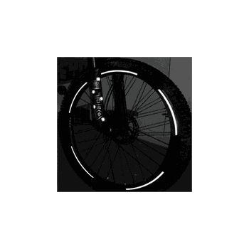 Kit stickers VTT roue reflectant sécurité