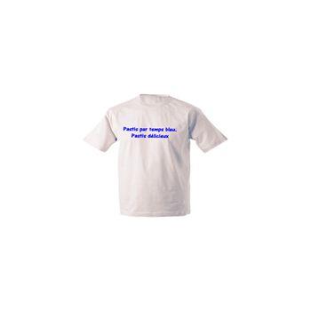 T-Shirt Camping -  Pastis par temps bleu