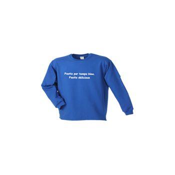 Sweat-Shirt Camping - Pastis Par Temps Bleu