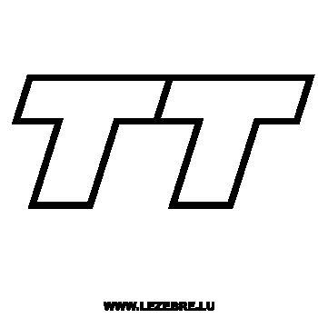 Sticker Audi TT 2