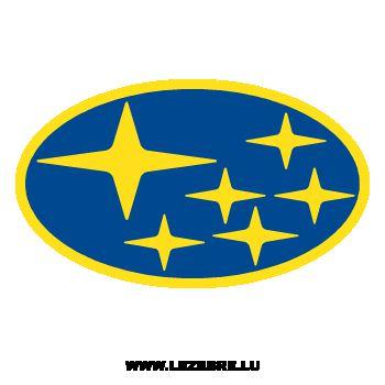 Sticker Subaru Logo Couleur