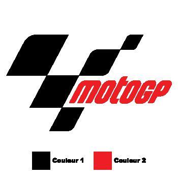 Sticker Moto GP Nouveau Logo