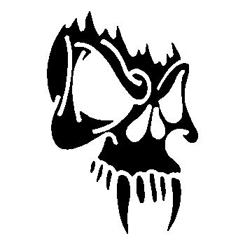 Skull Decal 8