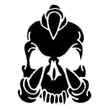 Skull Decal 9
