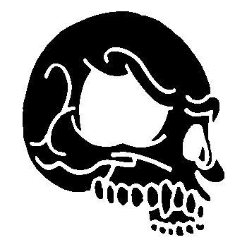 Skull Decal 10