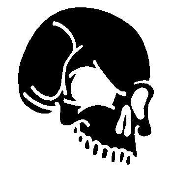 Skull Decal 11