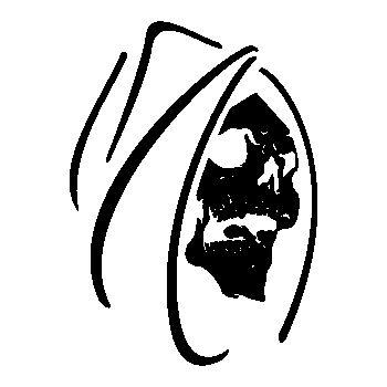 Skull Decal 12