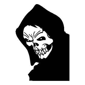 Sticker Tête de Mort 13
