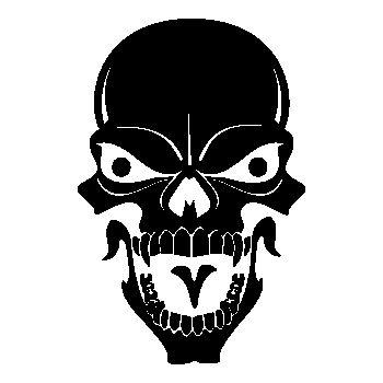 Skull Decal 27