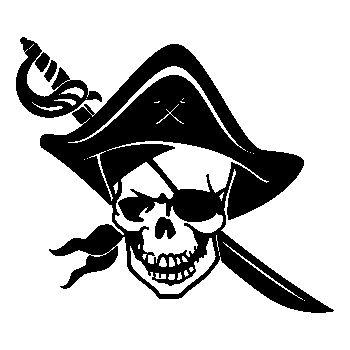 Tee shirt Tête de Mort Pirate 21