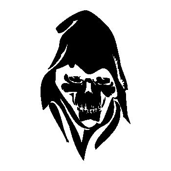 Skull Decal 6
