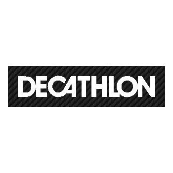 Sticker Carbone Decathlon Logo