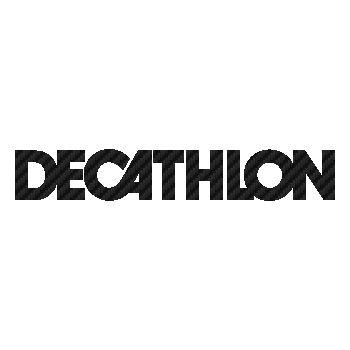 Sticker Carbone Decathlon Logo 2