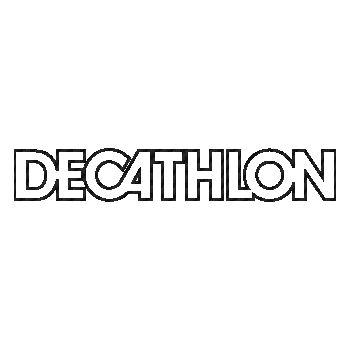 Sticker Carbone Decathlon Logo 3