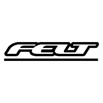 Sticker Felt Bicyles Logo