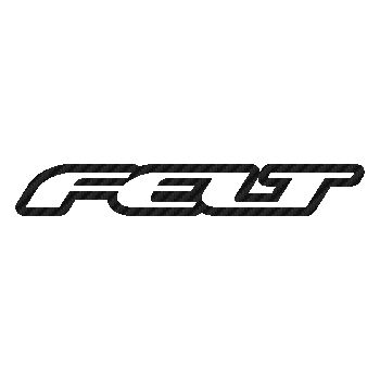 Felt bicycles logo Carbon Decal 2