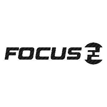 Focus bicycles logo Carbon Decal 2