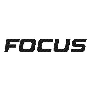 Focus bicycles logo Carbon Decal 3